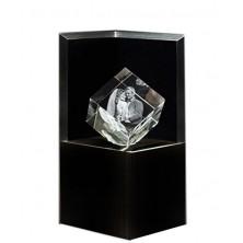 Socle lumineux Deluxe noir pour bloc Cube 8 c